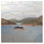How Deep's the Water - Loch Monar, 2009 (oil on canvas)
